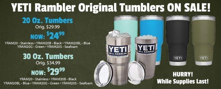 Yeti Rambler Sale >> Yeti Ramblers Original On Sale Benson Ski Sport