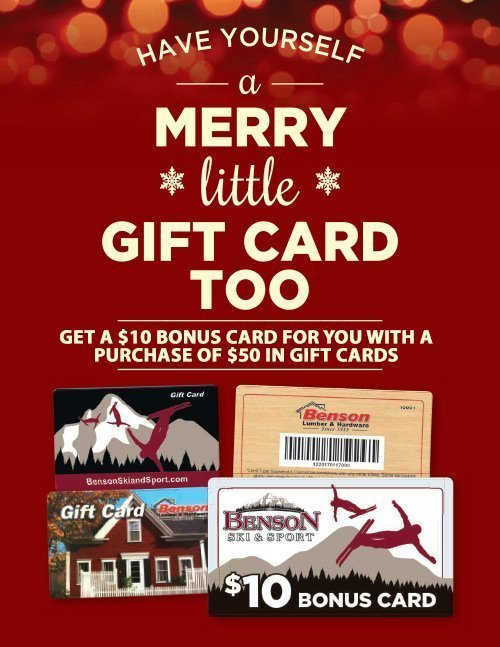 Have Yourself a Merry Little Gift Card Too!