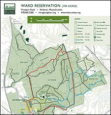 Ward Reservation and Boston Hill-Moderate/ Difficult