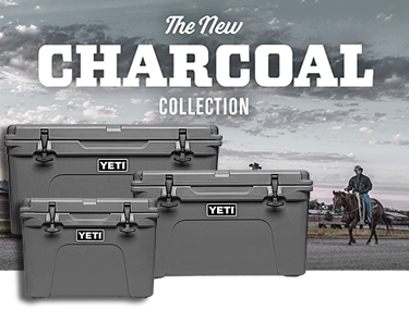 YETI charcoal collection