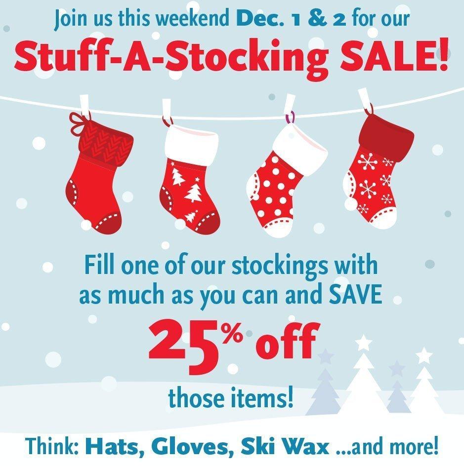 Stuff-a-Stocking Sale!