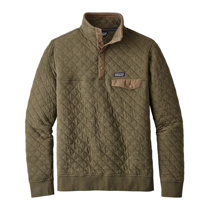 Patagonia Men S Organic Cotton Quilt Snap T 174 Pullover